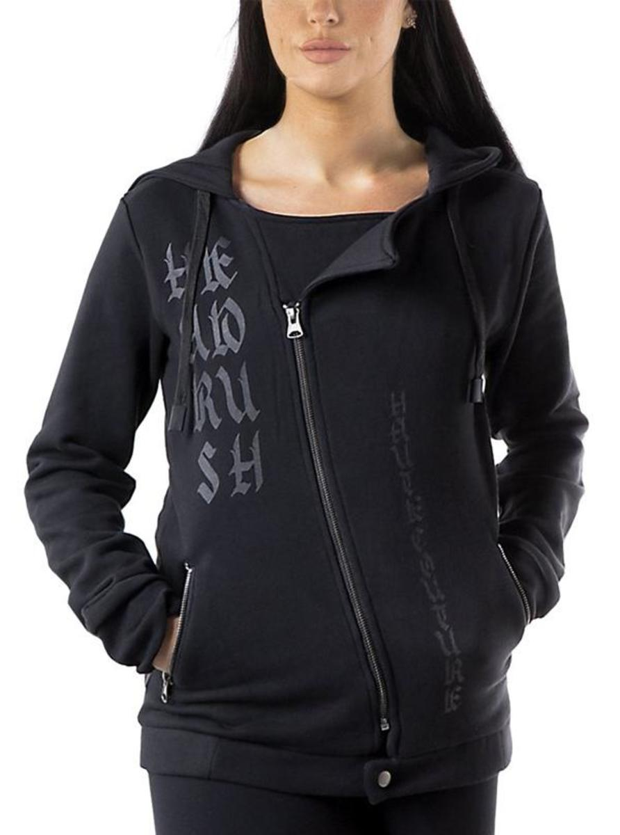 "WOMEN'S ""TAKE A BOW"" ZIP UP HOODIE BY HEADRUSH BRAND"