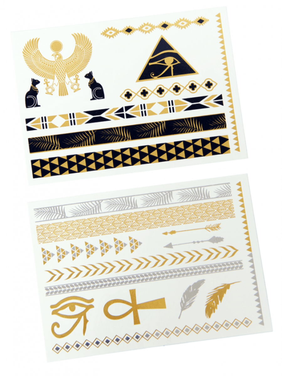 """LUXURY"" TEMPORARY TATTOOS"