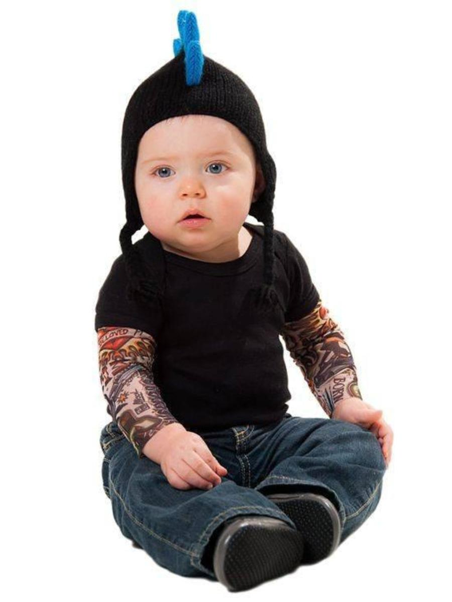 "KIDS ""TATTOO SLEEVE"" TEE BY INKED"