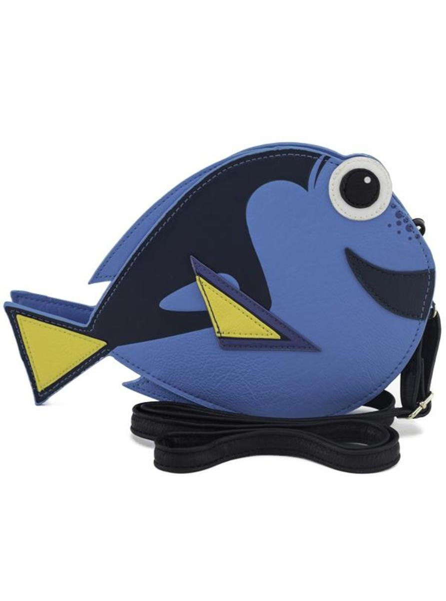 """FINDING NEMO: DORY"" CROSSBODY BAG BY LOUNGEFLY"