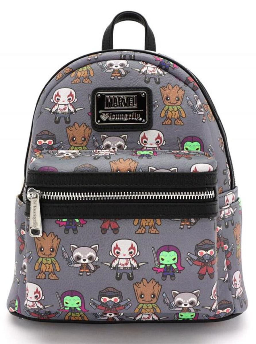 """MARVEL: GUARDIANS OF THE GALAXY KAWAII"" MINI BACKPACK BY LOUNGEFLY"