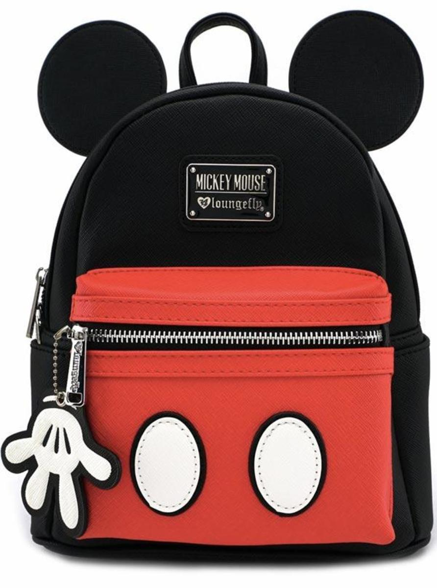 """MICKEY SUIT"" MINI BACKPACK BY LOUNGEFLY"