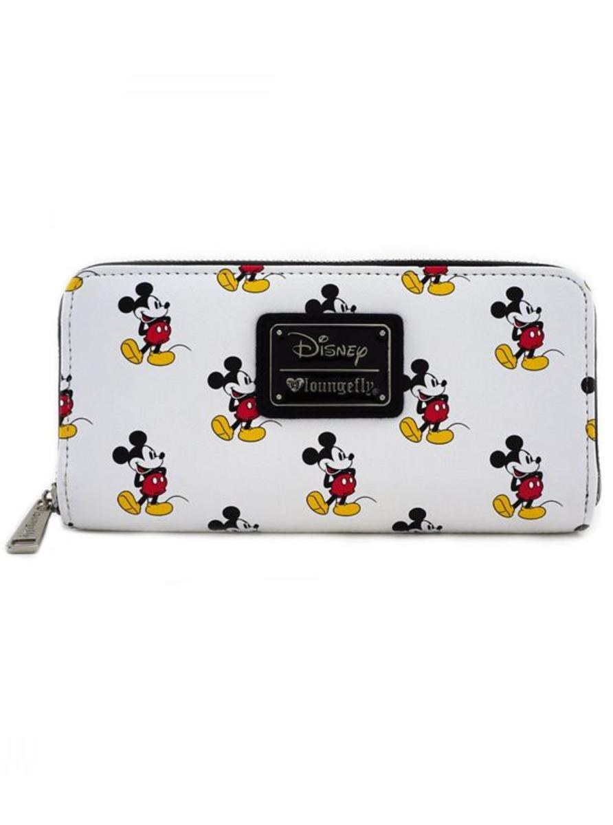 """MICKEY PRINT"" WALLET BY LOUNGEFLY"