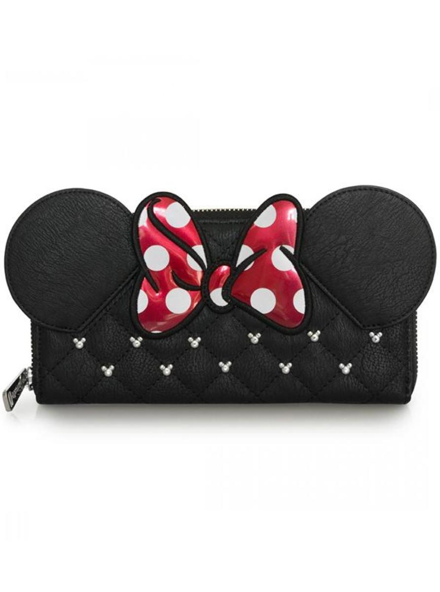 """MINNIE BOW"" WALLET BY LOUNGEFLY"