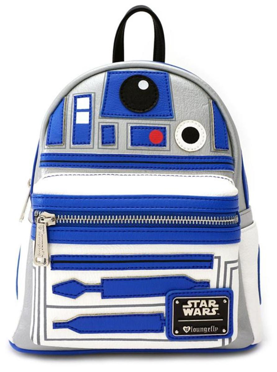 """STAR WARS R2D2"" MINI BACKPACK BY LOUNGEFLY"