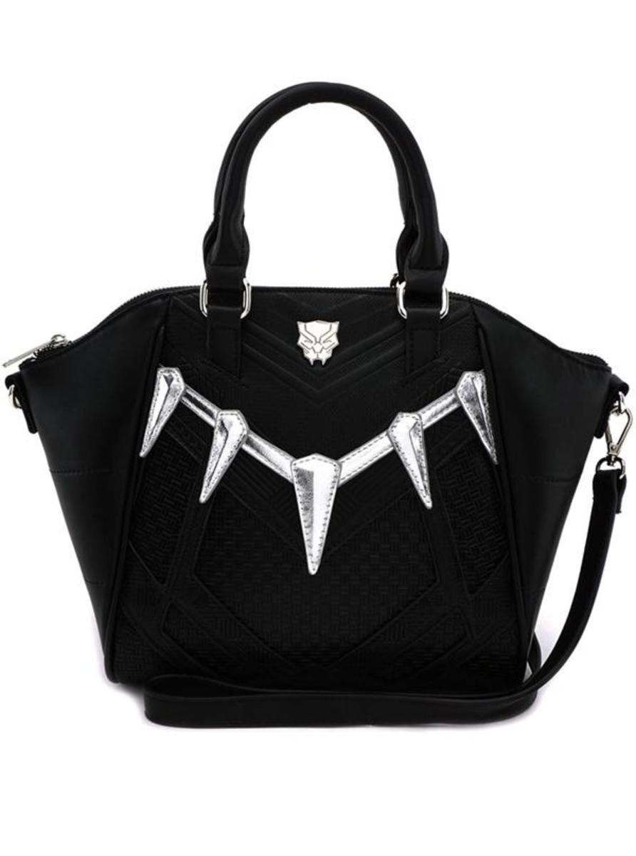 """MARVEL: BLACK PANTHER"" CROSSBODY BAG BY LOUNGEFLY"
