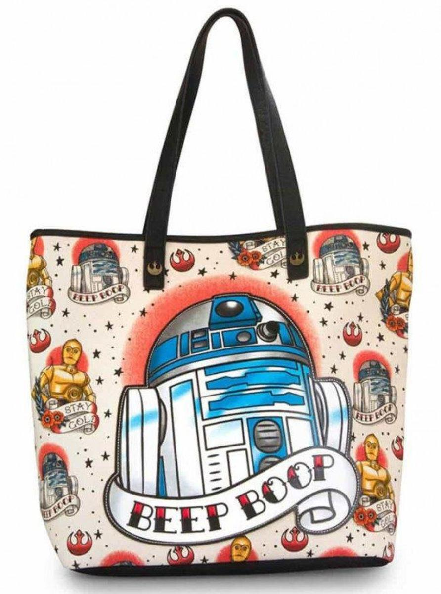 """STAR WARS: R2-D2"" TOTE BY LOUNGEFLY"