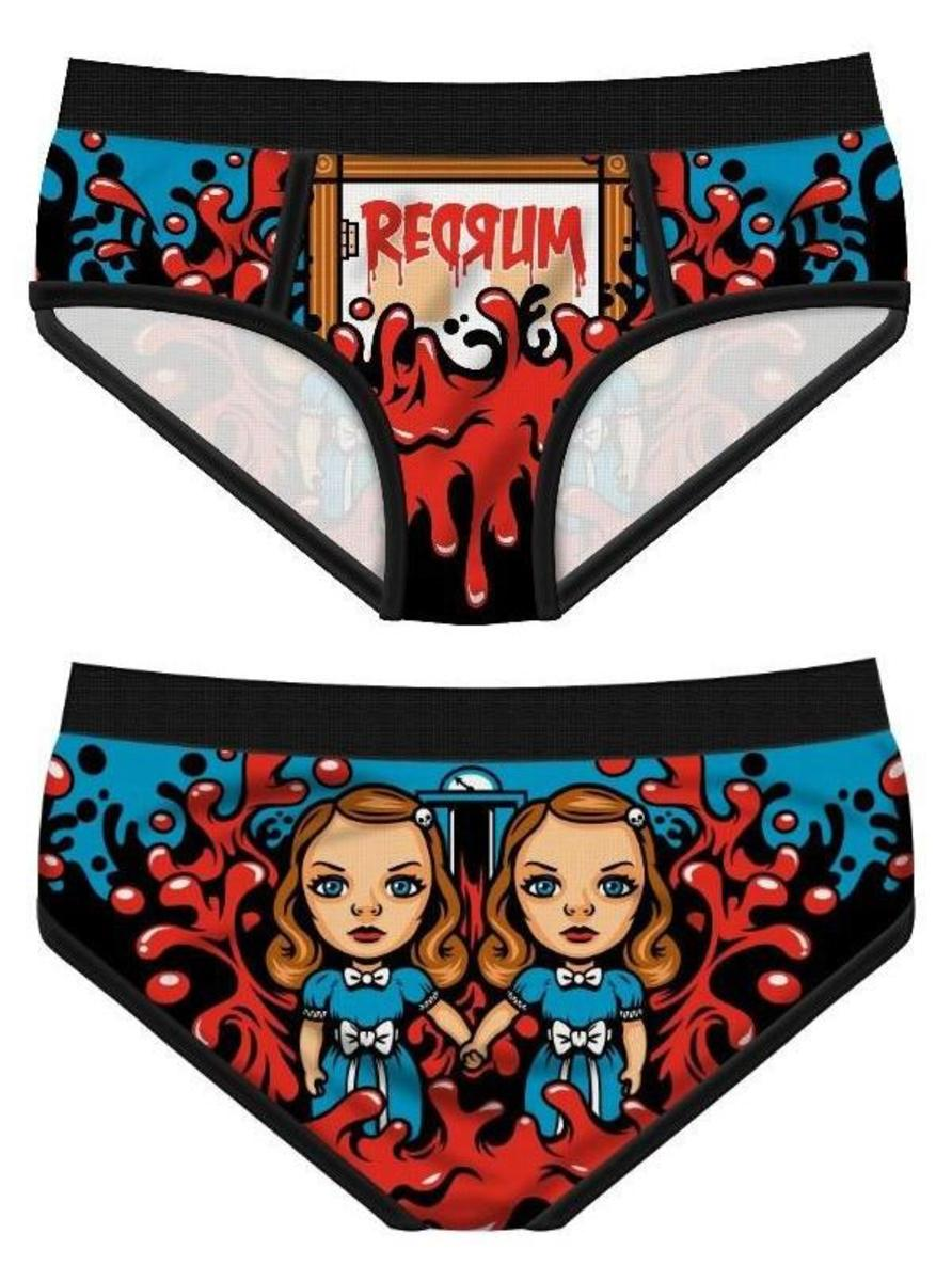 "WOMEN'S ""REDRUM"" PERIOD PANTIES BY HAREBRAINED!"