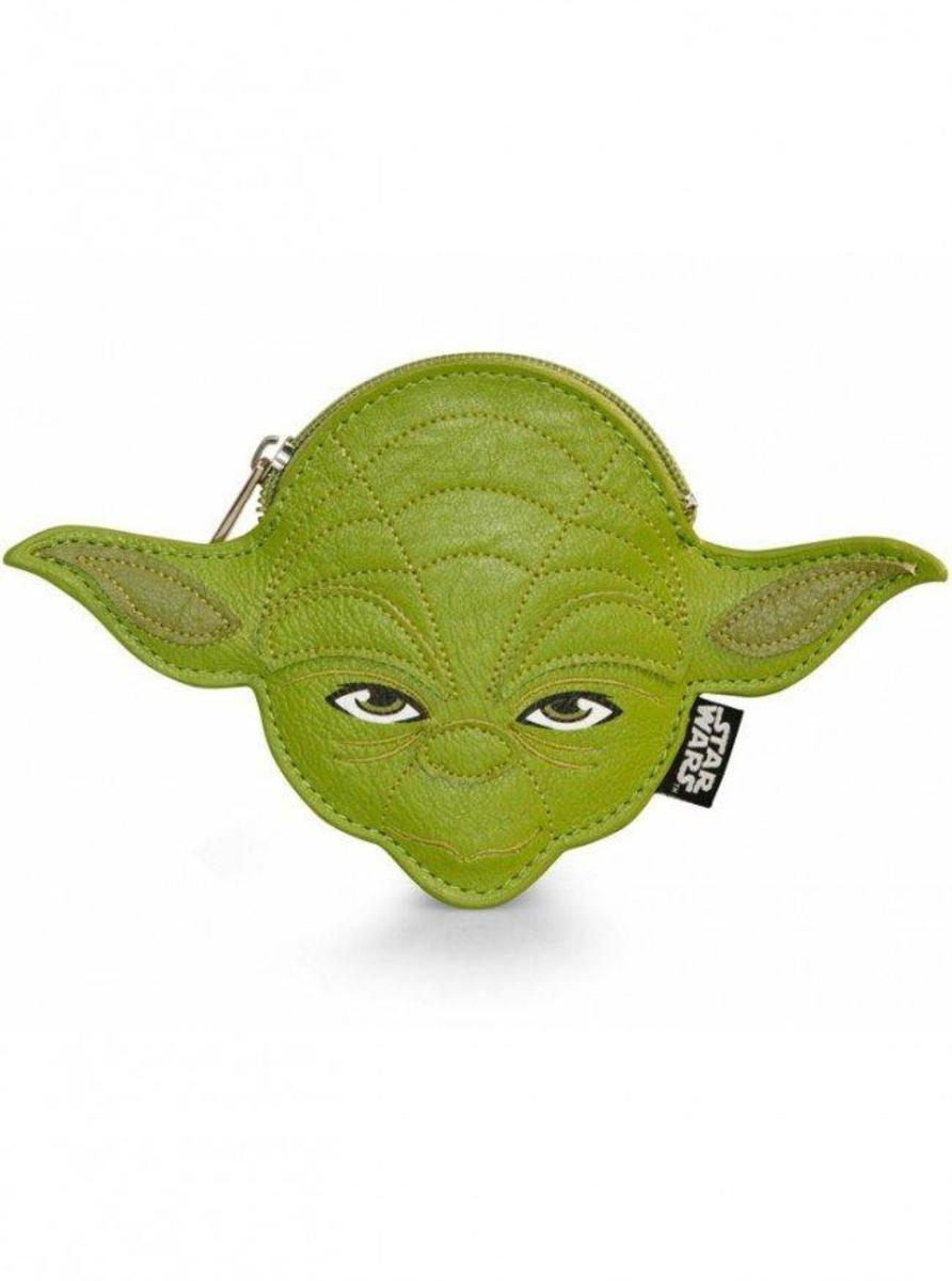 """STAR WARS YODA"" COIN BAG BY LOUNGEFLY"
