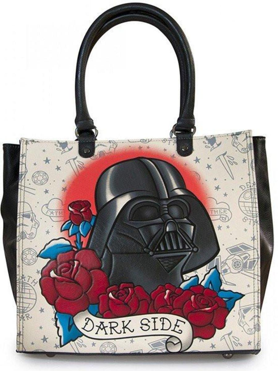 "STAR WARS ""DARTH VADER TATTOO"" TOTE BY LOUNGEFLY"
