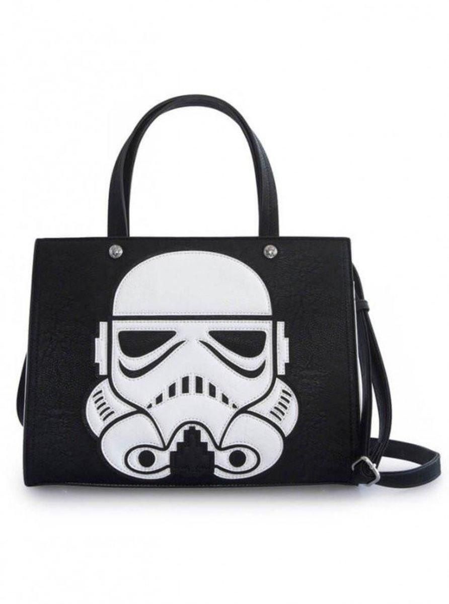 """STAR WARS LASER CUT STORMTROOPER"" DUFFLE BY LOUNGEFLY"
