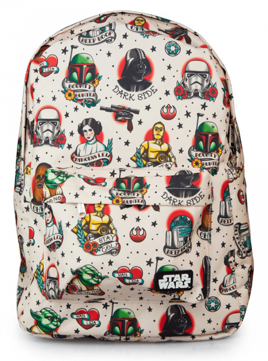"""STAR WARS TATTOO FLASH"" BACKPACK BY LOUNGEFLY"