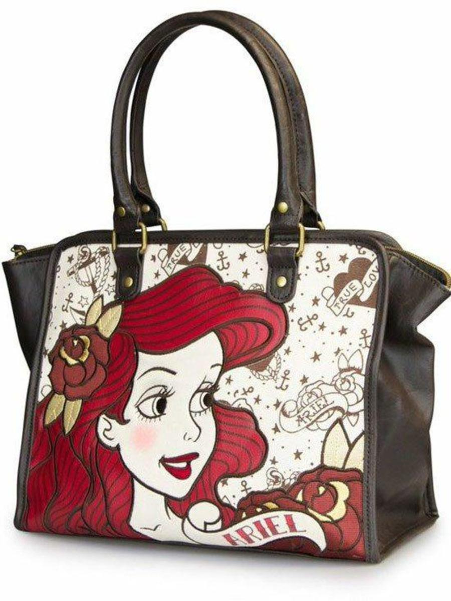 """ARIEL TRUE LOVE"" TOTE BY LOUNGEFLY"