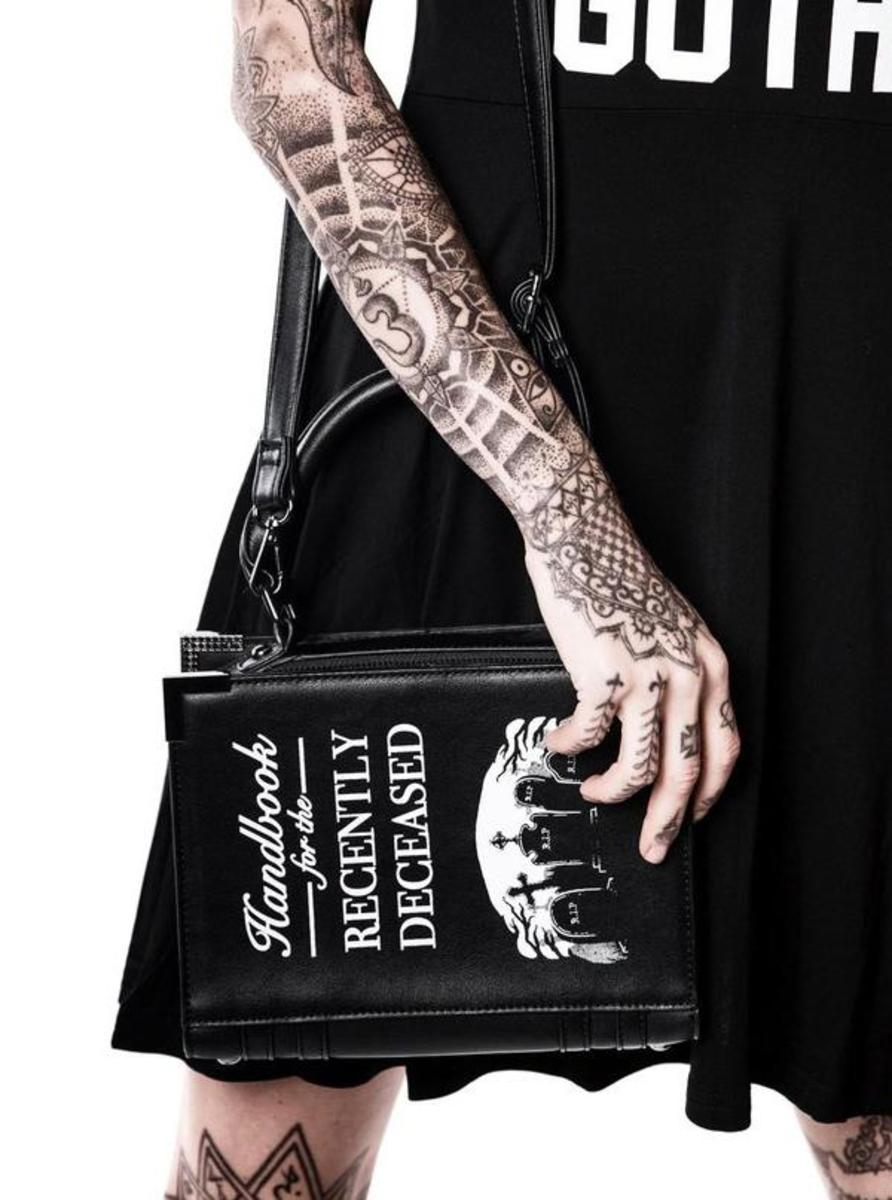 """DEE CEASED"" BOOK HANDBAG BY KILLSTAR"