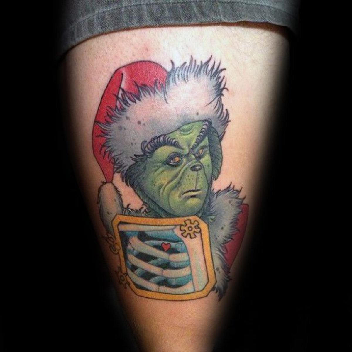 Amazing-And-Great-Grinch-Tattoo