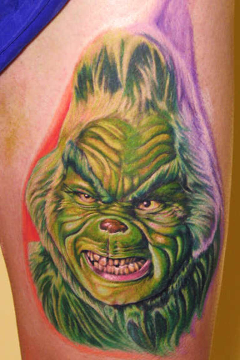 The-Grinch-tattoo-88485