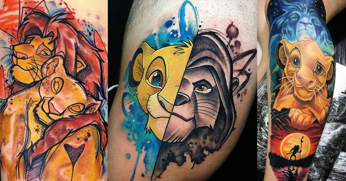 Celebrate The Lion King With 25 Fierce Tattoos Tattoo Ideas Artists And Models