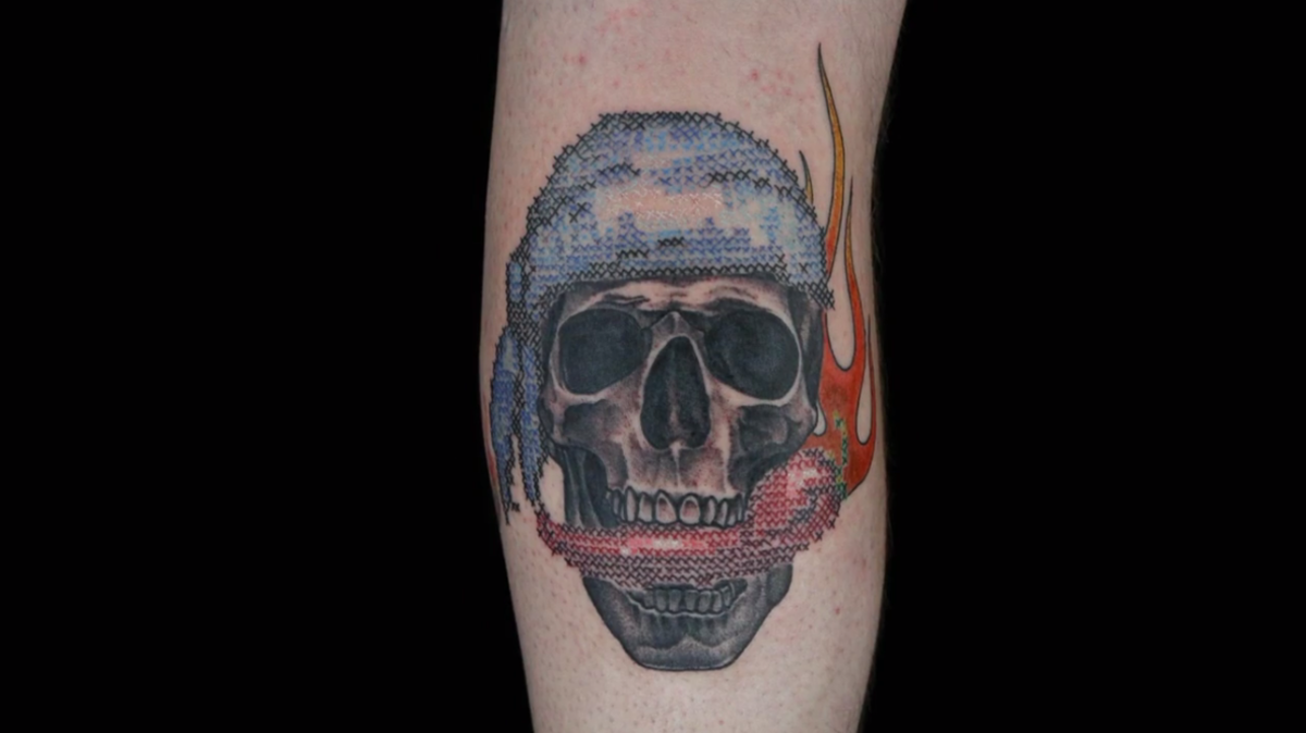 Cross Stitch Tattoos Take Center Stage On This Week S Episode Of Ink Master Tattoo Ideas Artists And Models