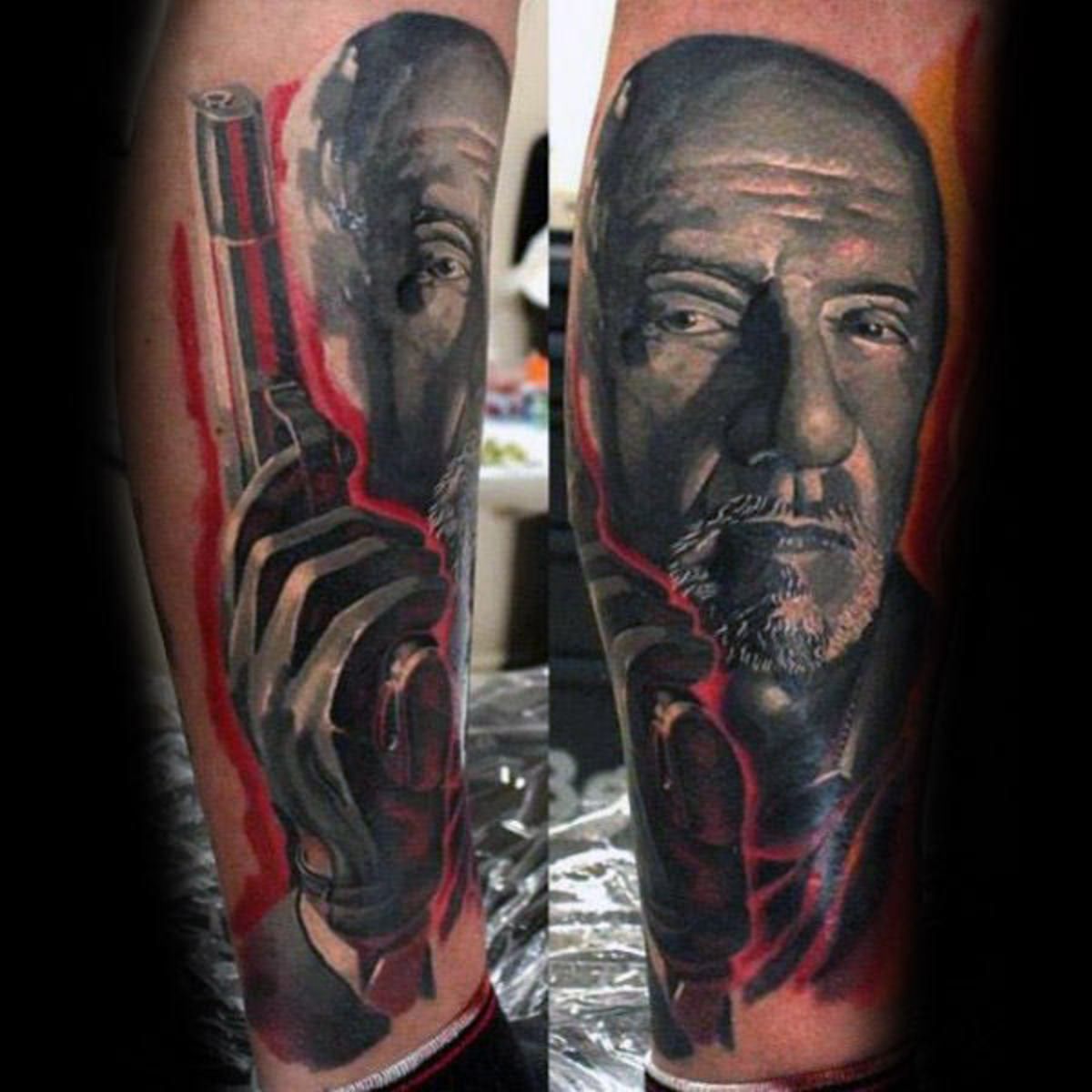 hank-schrader-breaking-bad-guys-leg-portrait-tattoos