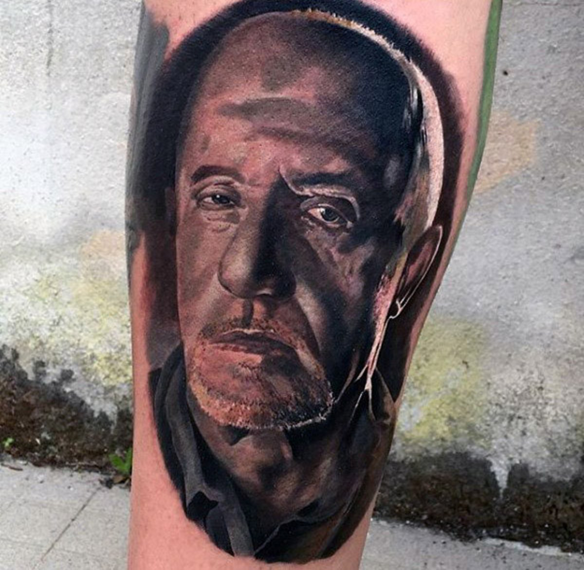 mens-breaking-bad-portrait-tattoo-ideas