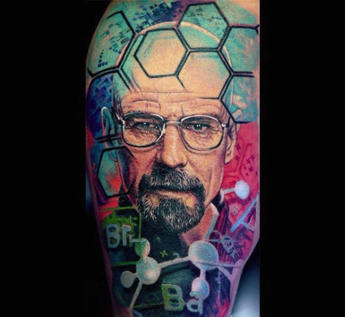 guys-colorful-chemistry-breaking-bad-tattoo-half-sleeve