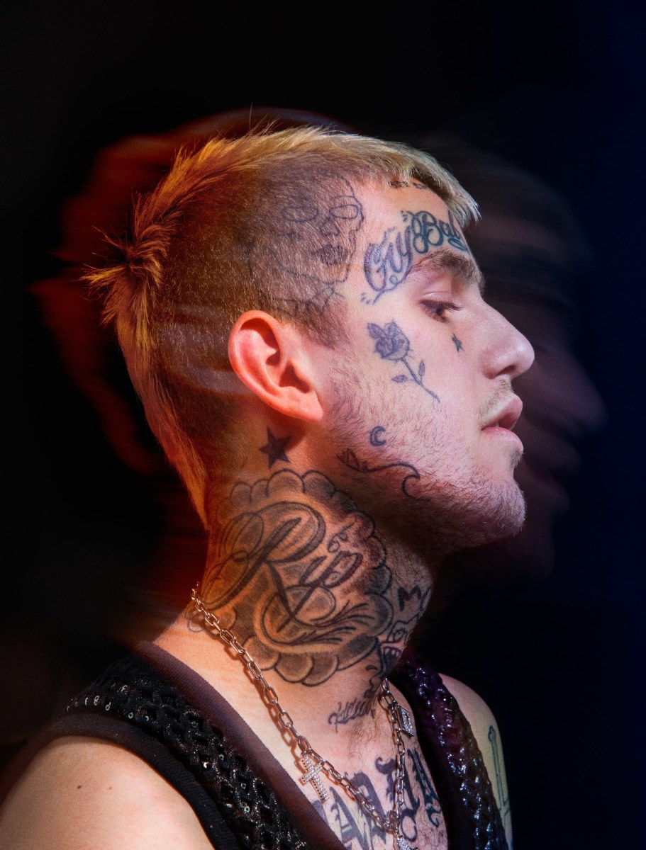 Take A Tour Of Lil Peep S Tattoos Tattoo Ideas Artists And Models