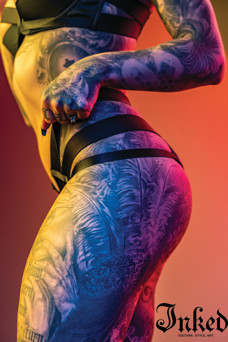 Photo by Peter Roessler, Tattoos by Levi 70six
