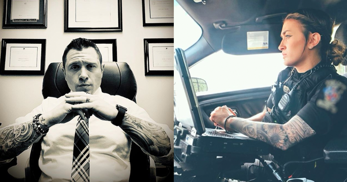 Visible Tattoos and Non-Traditional Hair Colors Becoming More Common in the Workplace