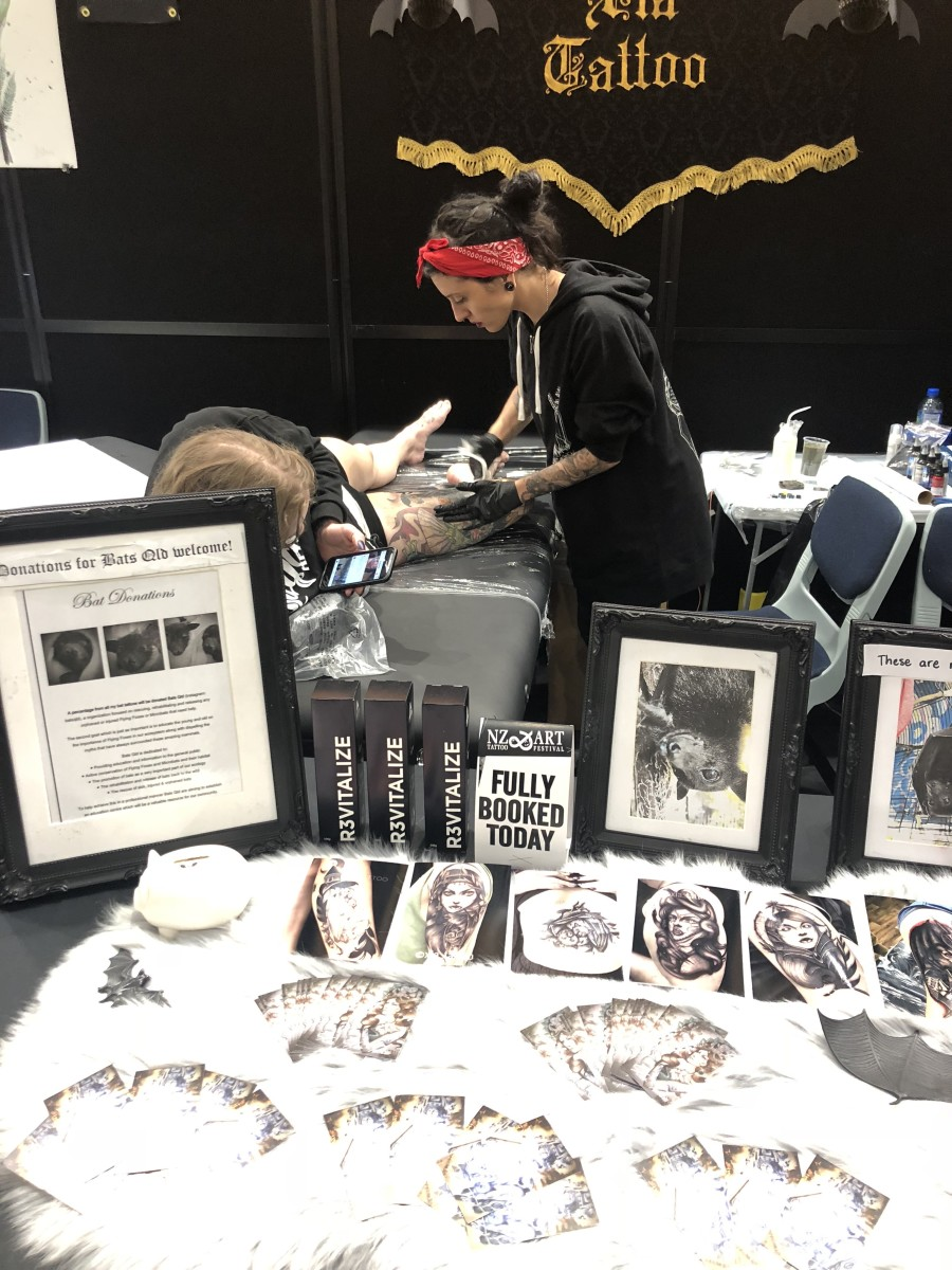 Xia's Convention Booth