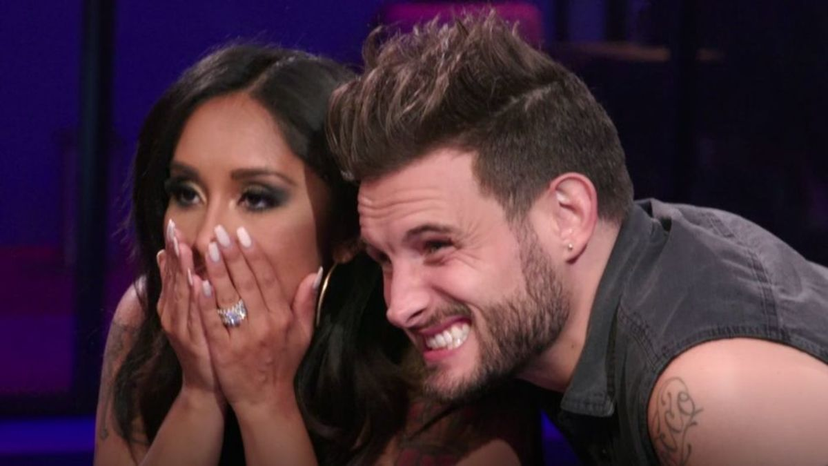 Snooki, Snooki and Nico, Nicole Polizzi, Nico Tortorella, How Far is Tattoo Far, Snooki MTV, Just Tattoo of Us, Jersey Shore, Jerzdays, Inked Magazine, Inked Mag, Snooki tattoos, Nico tattoos, MTV Younger
