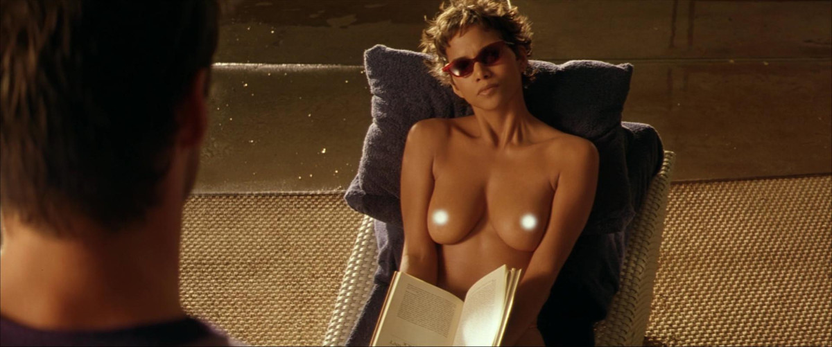 We have to thank the producers for paying Berry $500,000 to bare her boobs to Hugh Jackman and the rest of the world in that famous sunbathing scene.