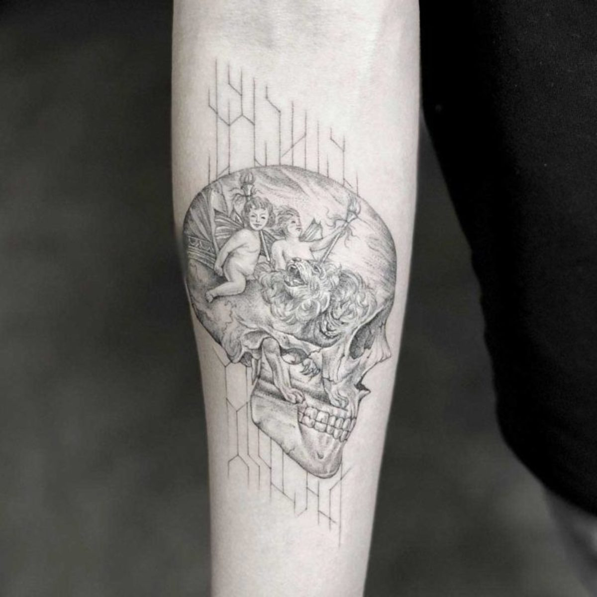 Thoughts-Skull-Tattoo-by-Mr.K-728x728