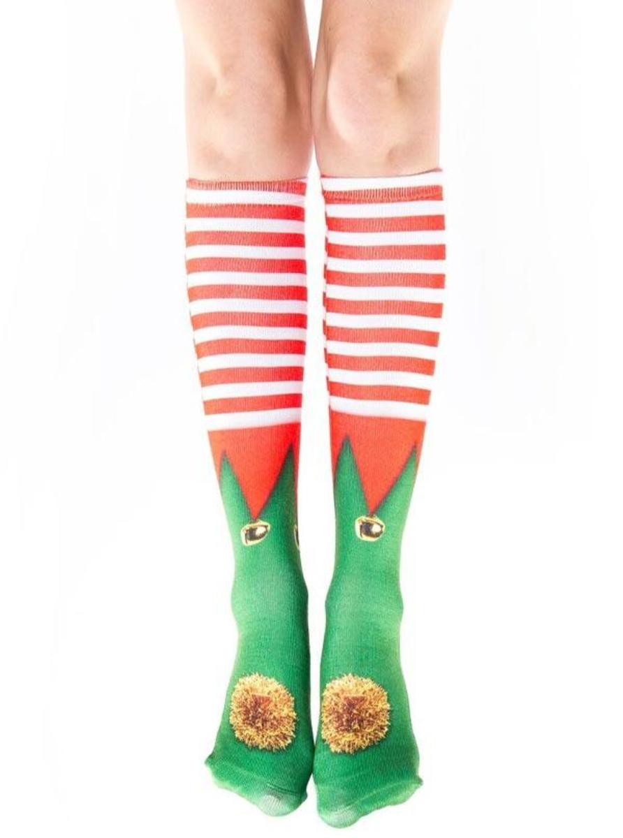 """ELF SHOES"" KNEE HIGH SOCKS"