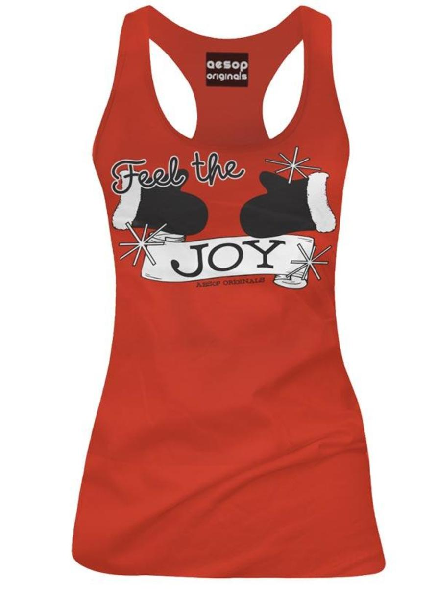 "WOMEN'S ""FEEL THE JOY"" TANK BY AESOP ORIGINALS"