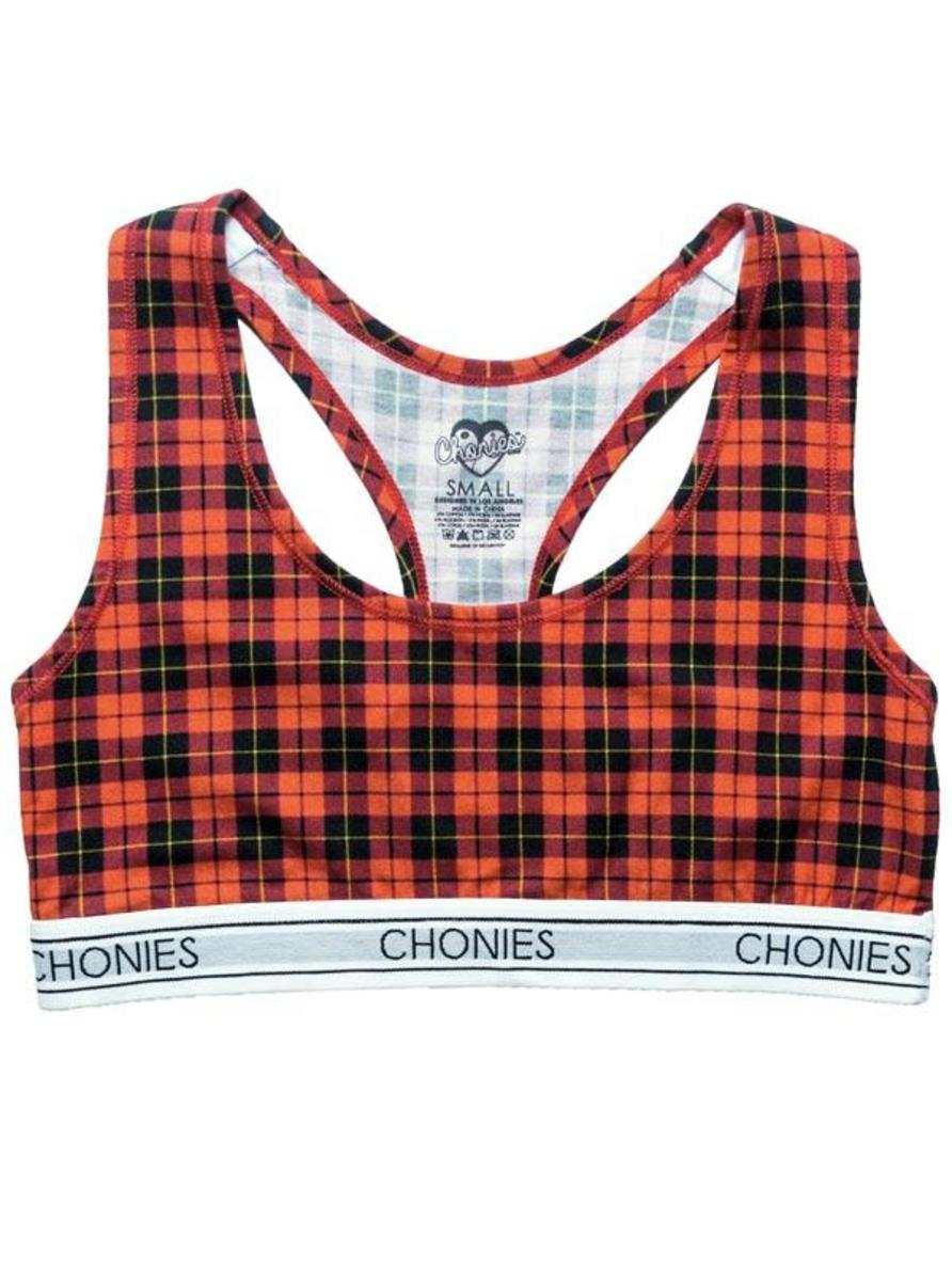 "WOMEN'S ""SCHOOL GIRL"" SPORTS BRA BY CHONIES"
