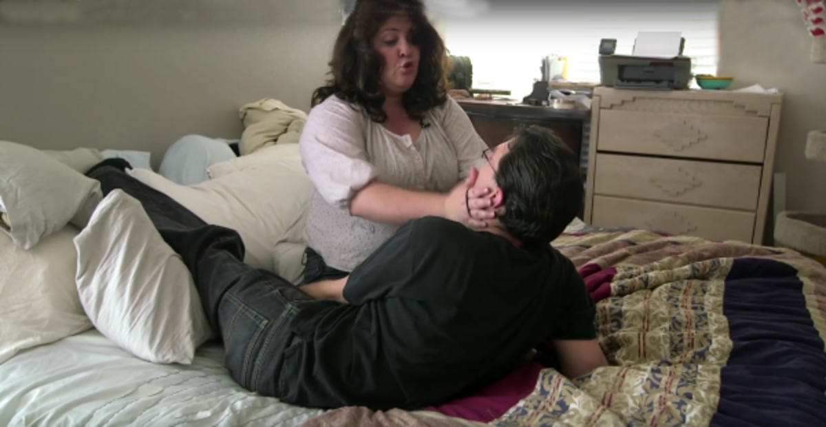As one might expect the condition has also put a strain on her marriage due to the amount of attention and affection she craves because of the vast number of hormones always racing through her body. 'We still have sex but it can become incredibly frustrating for both of us because I am forever aroused,' she said. VIDEO UP NEXT!