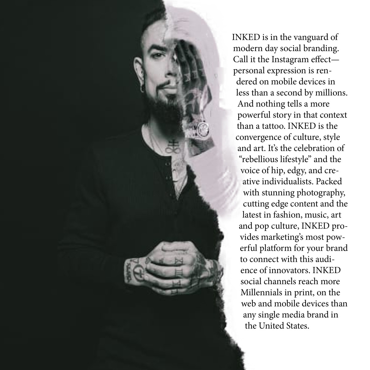 Dave Navarro from the Inked for a Cause issue.