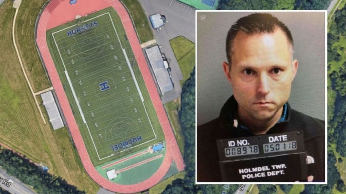Mystery pooper, Superintendent Caught Pooping On Football Field, NJ Superintendent, Thomas Tramaglini, runners diarrhea, Kenilworth schools, Holmdel High School's football field, Holmdel High School football, bizarre news, weird news, bizarre crime