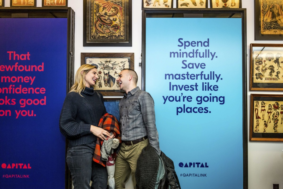 How to invest, how to save money, best financial app, qapital app, qapital savings, free-tattoo event, George Friedman, New Financial App, daredevil tattoo, nyc tattoo shops
