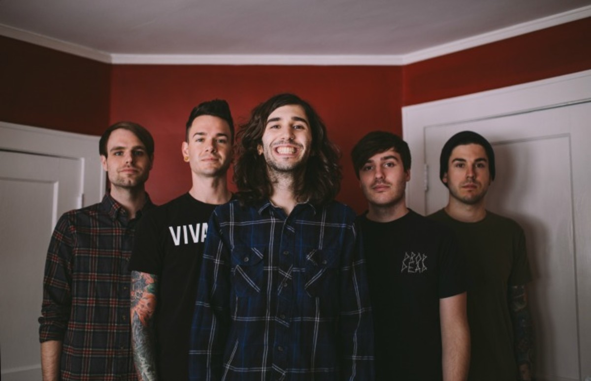 Real friends, Dan Lambton, real friends band, real friends new album, mike green, all time low, paramore, real friends composure, composure album, real friends composure album, inked exclusive, inked magazine, pop punk 2018, illinois emo band, Brian Blake, Dave Knox, Eric Haines, Kyle Fasel