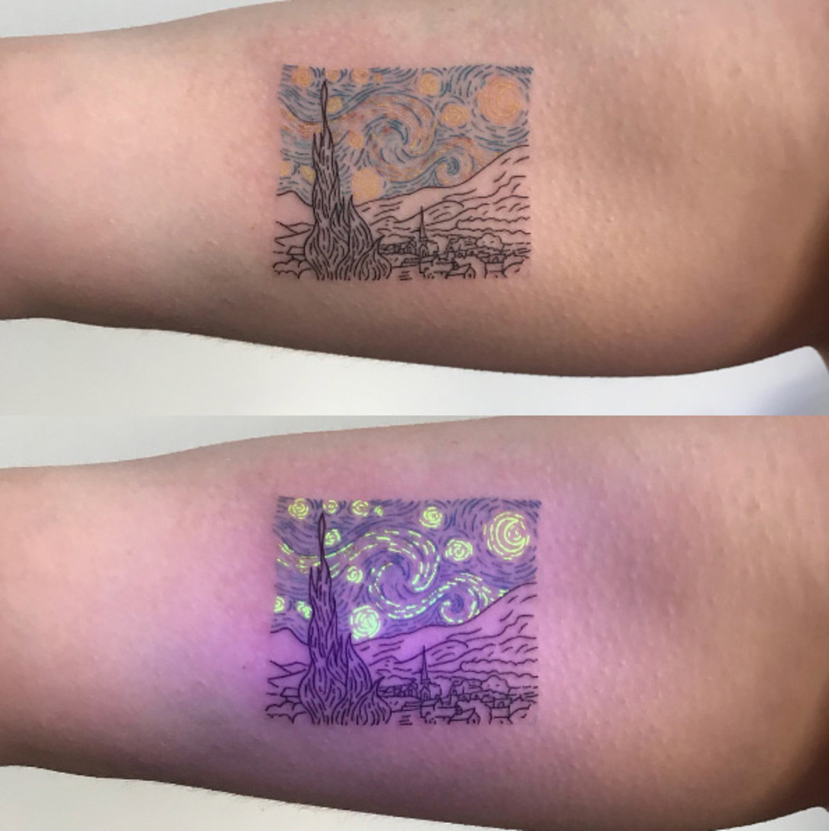 All You Need To Know About Black Light Tattoos According To Tattoo