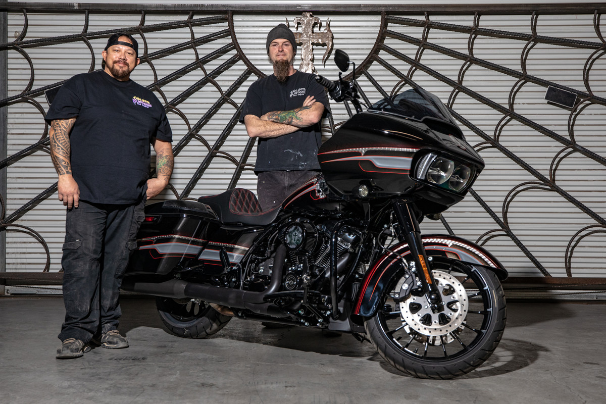 Shannon and Ryan from Count's Kustoms