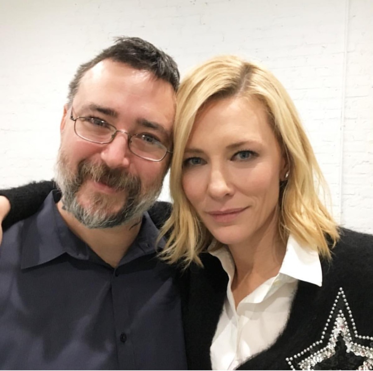Josh Lord and Cate Blanchett