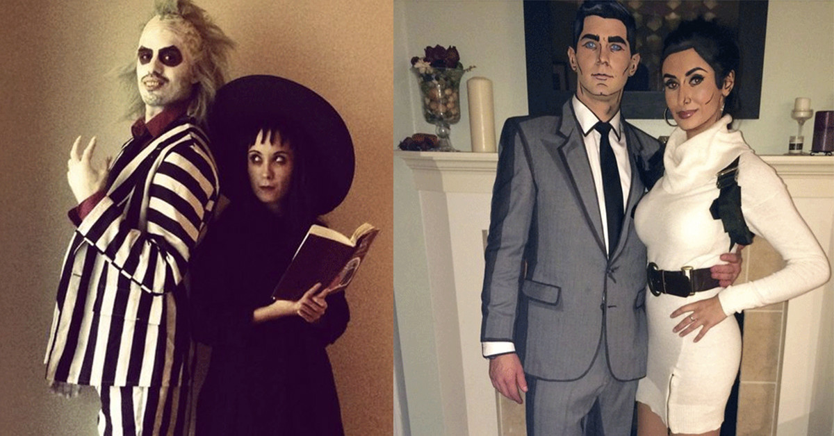 Couples Halloween Costumes Inked Magazine Tattoo Ideas Artists And Models