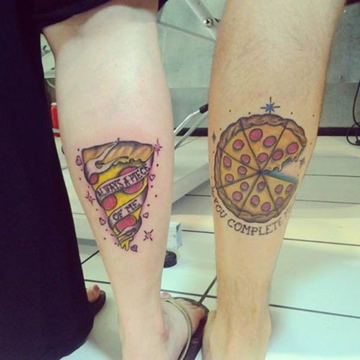 pizza-couple-tattoo