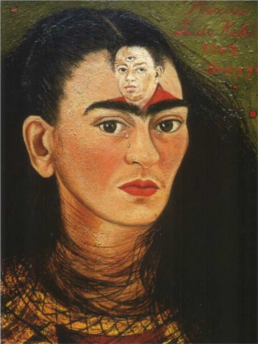 Diego and I by Frida Kahlo