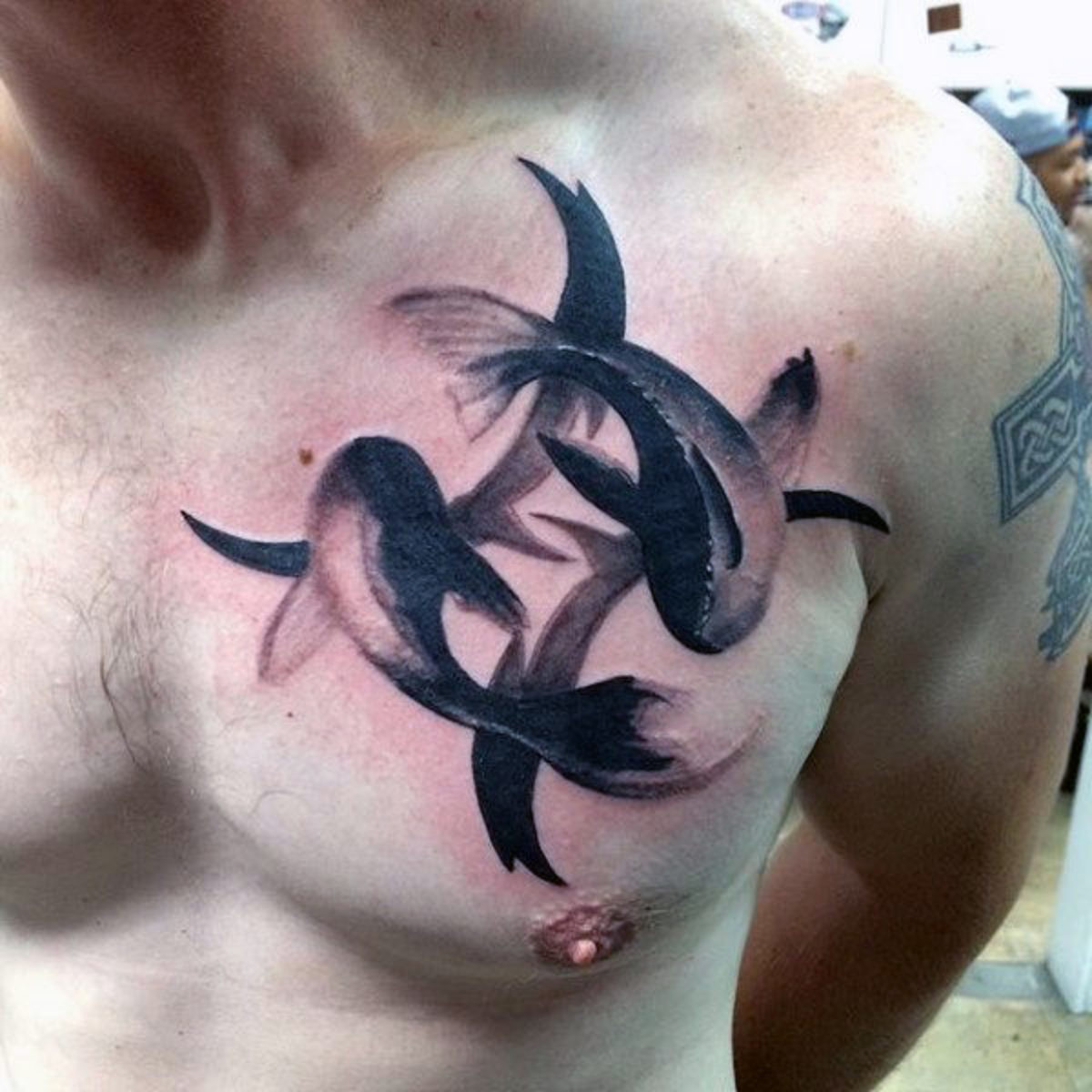00f5a288a 45 Pisces Tattoos For Men and Women to Celebrate Pisces Season ...