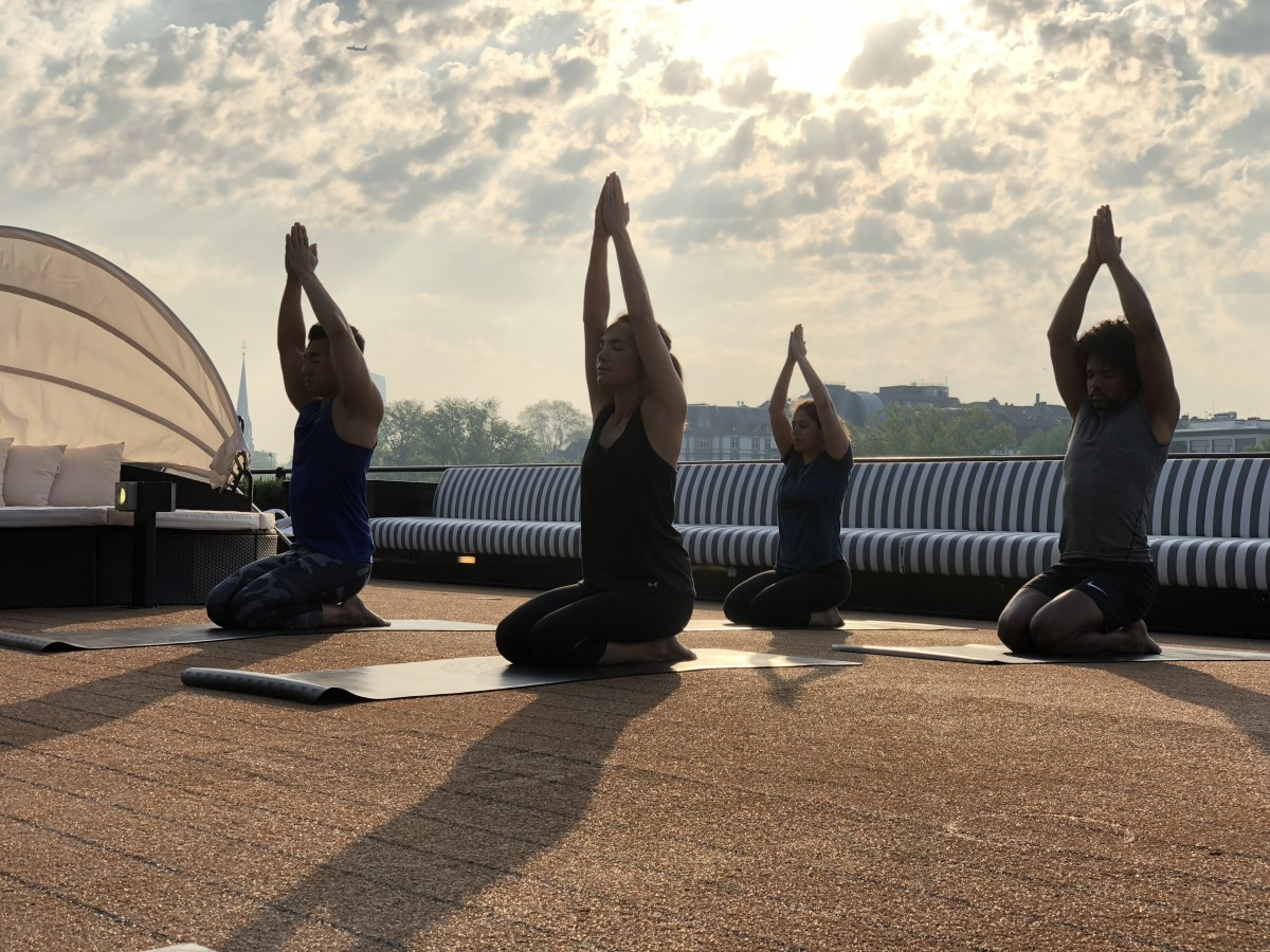 The A_Sundeck yoga