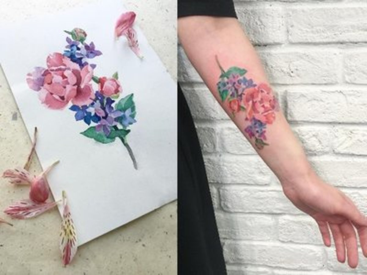 Your A Z Guide To Flower Tattoo Meanings Symbolisms And Birth Flowers Tattoo Ideas Artists And Models