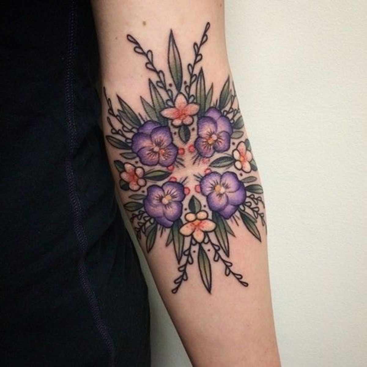 ca21b1154b1e1 Your A-Z Guide to Flower Tattoo Meanings, Symbolisms, and Birth ...